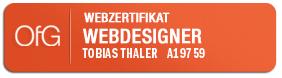 OfG-Badge_zertifizierter_Webdesigner_Tobias_Thaler